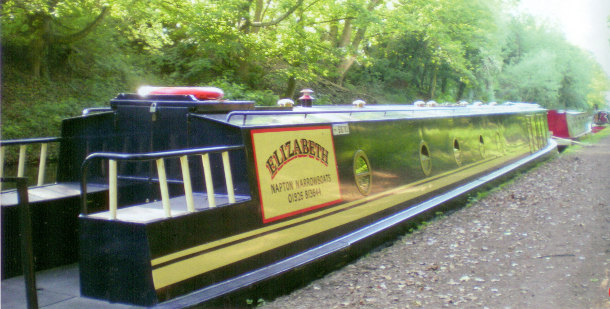 Narrowboat Elizabeth